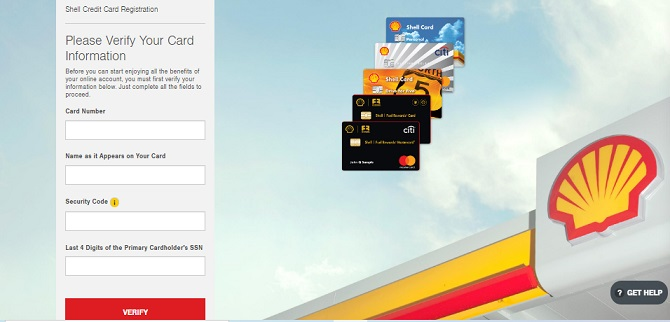 Shell Credit Cards Login