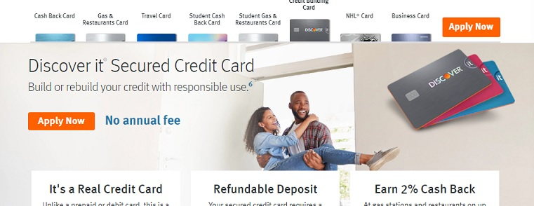 Discover it Secured Credit Card Login