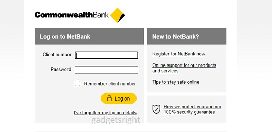 Check First CommBank Account Online
