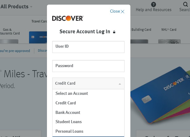 Discover itMiles Credit Card