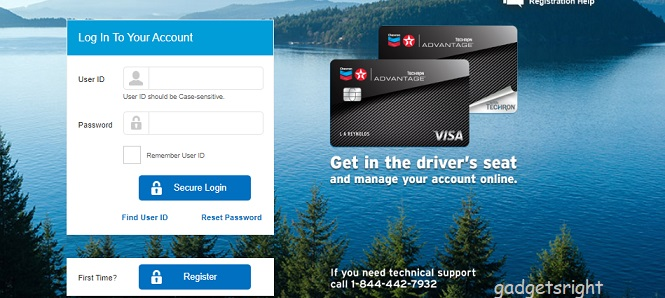 Chevron Card Login and Payment