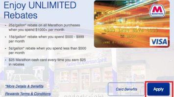 Marathon Credit Card Login and Payment