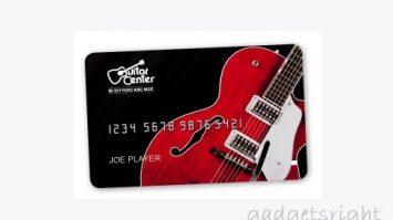 Guitar Center Credit Card Login & Payment