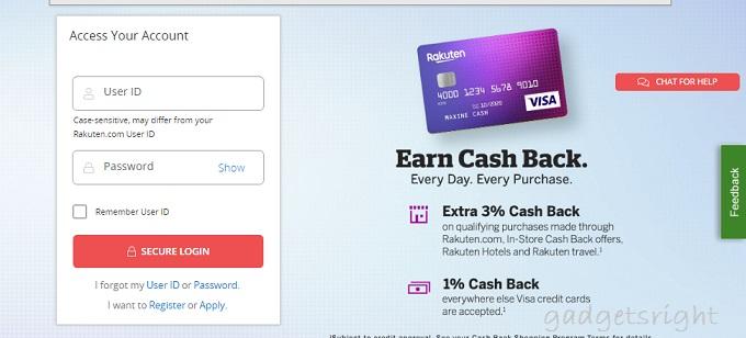 Rakuten Visa Card Credit Card