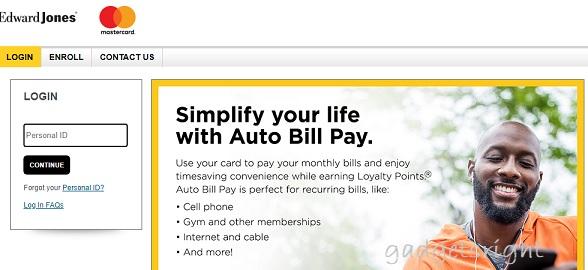 Edward Jones MasterCard Credit Card Login Guide