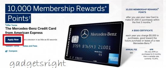 Mercedes Benz Card Review