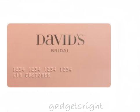 David's Bridal Credit Card Login Payment