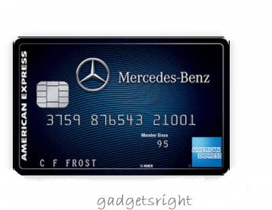 Mercedes Benz Credit Card Review