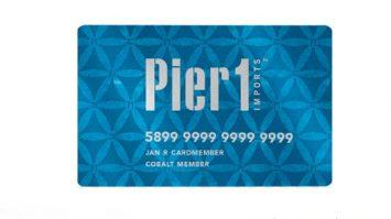 Pier 1 Credit Card Login Payment Process