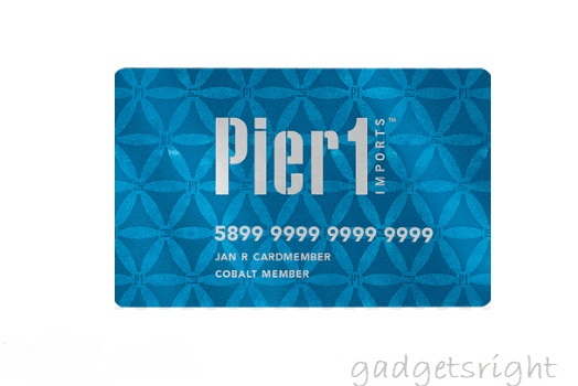 Pier 1 Credit Card Login Payment Process