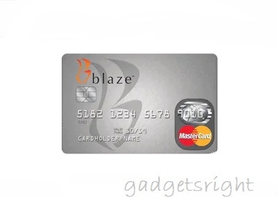 Blaze Credit Card Review and Payment Process