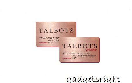 Talbot Credit Card