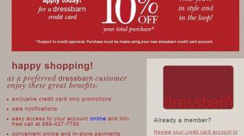 Are DressBarn Credit Card Still Good