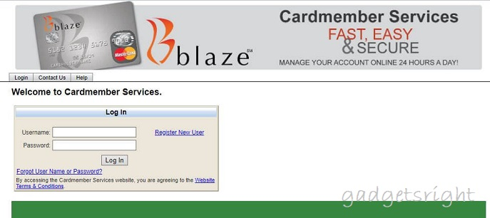 Blaze Credit Card Review and Payment