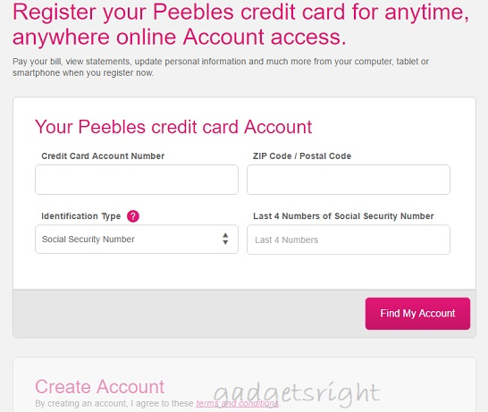 Peebles Credit Card Login and Payment
