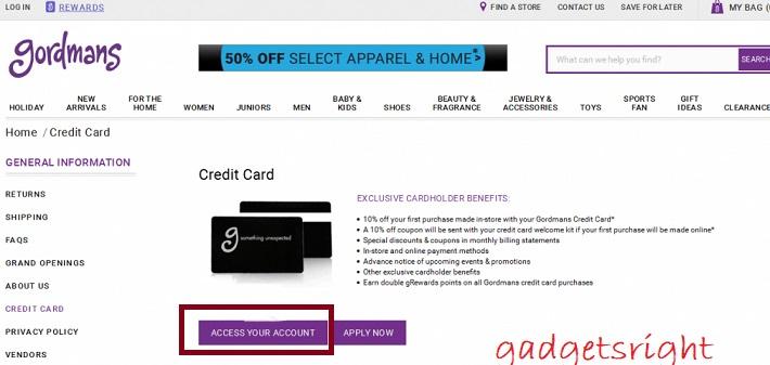 Gordmans Store Card Review