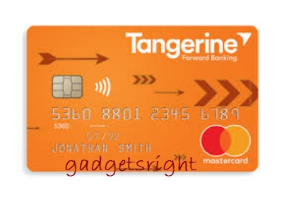 Tangerine Credit Card