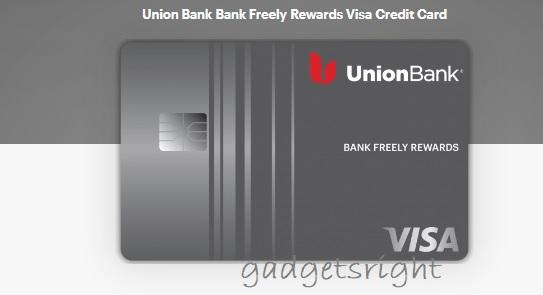 Union Bank Visa Credit Card Application