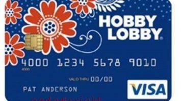 Hobby Lobby Credit Card