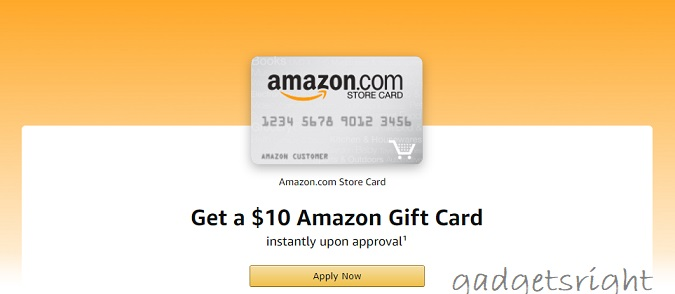 Amazon Store Card Payment