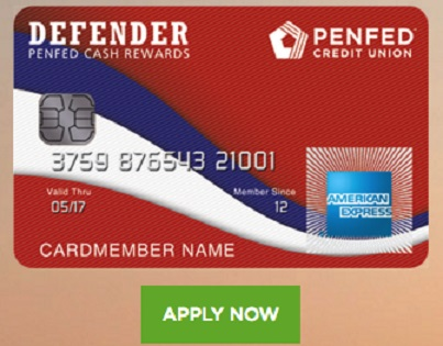 Penfed Defender American Express Card