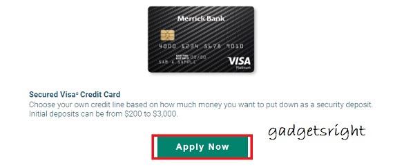 Merrick Credit Cards