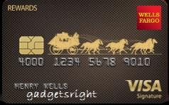 Wells Fargo Visa Signature® Card