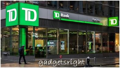 TD Bank online account