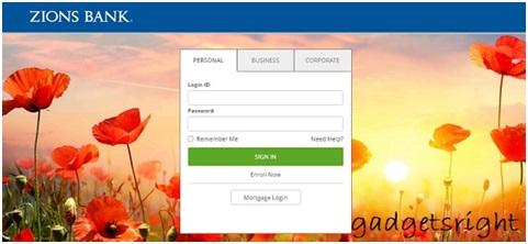Zions Bank Online