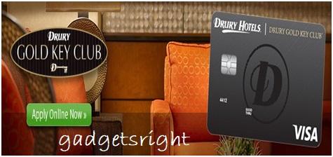Drury Gold Key Club Card