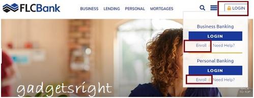 FLC online banking application